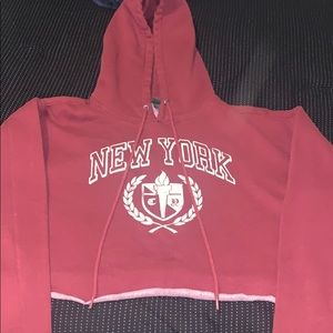 Wild Fable New York Cropped Hoodie